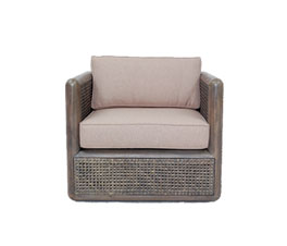 ELVAS 1 SEATER ARM SOFA 82 ANTIQ BROWN