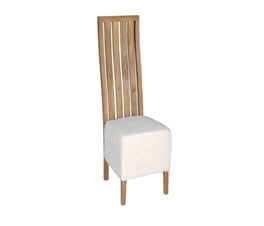 VILLE MOD FAT DINING CHAIR NATURAL GLOBAL 140CREAM